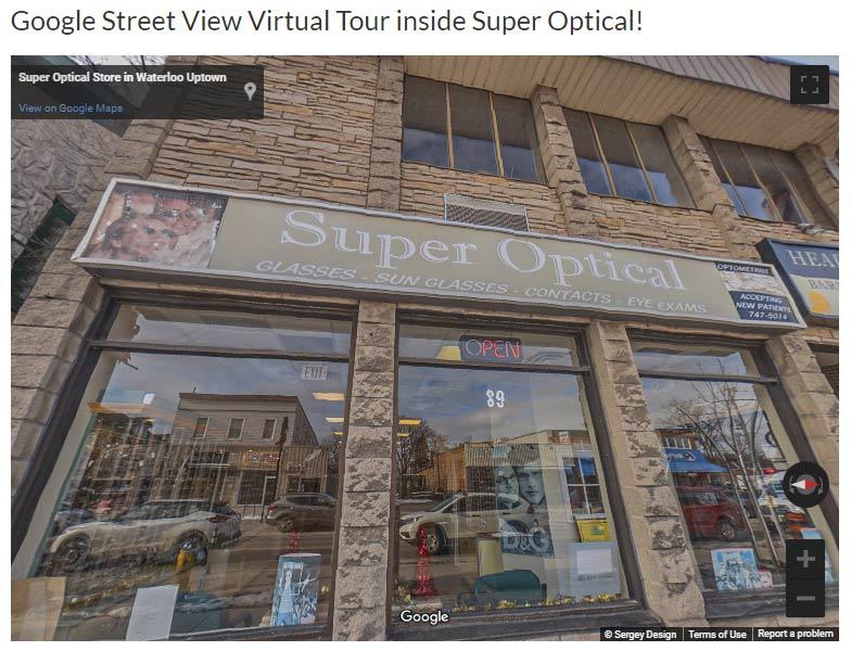 Super Optical Google Street View Google Virtual Tours
