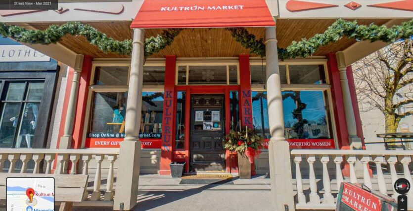 Kultrun Market Exterior Google Street View