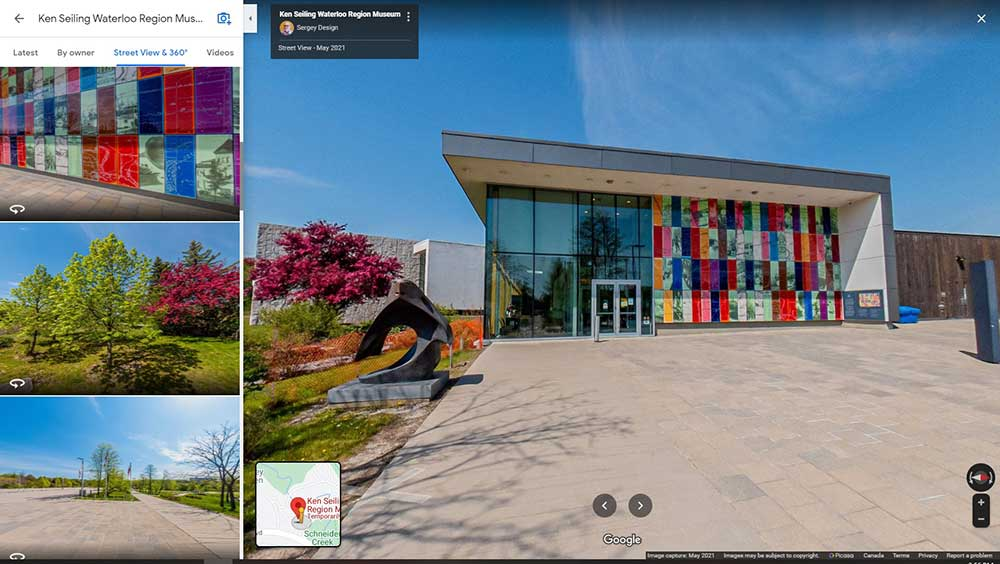 Google My Business Waterloo Region Museum