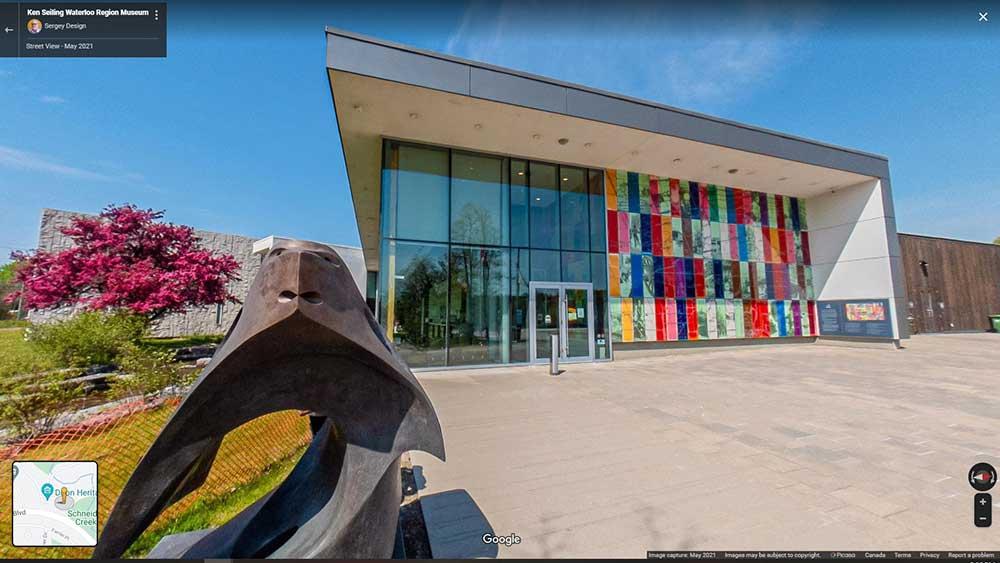 Waterloo Region Museum Google Street View
