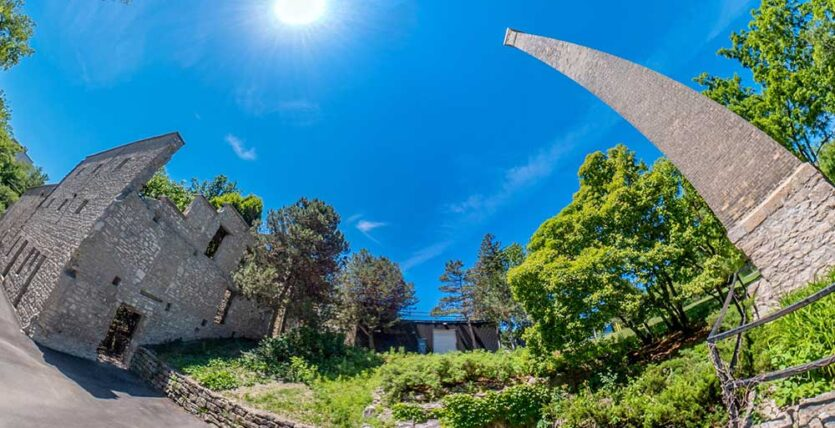 Goldie Mill Ruins Park in Guelph Ontario Virtual Tour