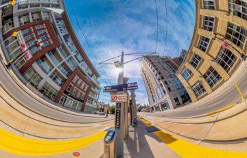 Waterloo GRT Panorama 360 Virtual Tour Allen Street Stop