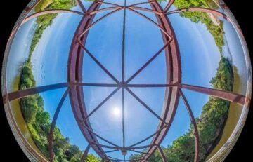Bridge in Bissell Park Elora ON